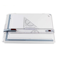 制图板 A3绘图板电子机械建筑工程考试室内设计画图工具草图台手绘板画板便携绘图包 主图色