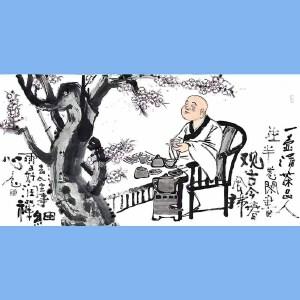 """国内""""文与画""""俱佳的艺术家刘子玉(一壶清茶品人生)36"""