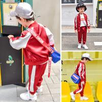 童装儿童春款套装2019新款男童棒球服两件套中小童春秋运动装韩版