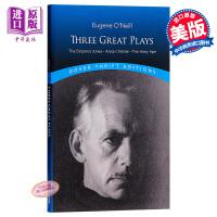 【中商原版】尤金・奥尼尔三大戏剧 英文原版 Three Great Plays: The Emperor Jones,