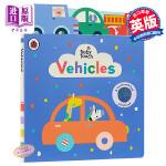 【中商原版】交通工具 英文原版 Baby Touch: Beep! Beep! Tab Book