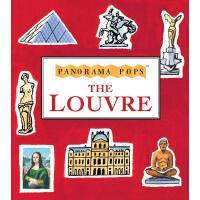 英文原版 小开本全景立体书:卢浮宫 The Louvre: A 3D Keepsake Cityscape