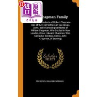 【中商海外直订】The Chapman Family: Or the Descendants of Robert Ch