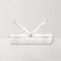 【8.3网易严选超品日】日本制造 双开盖床下滑轮收纳盒