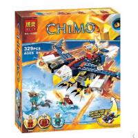 兼容乐高式 气功传奇赤马鹰杰斯的烈焰鹰隼FX机益智拼装玩具