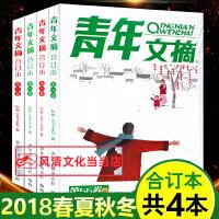 青年文摘青少年成人版文学文摘期刊书籍中考高考作文素材2018合订本全四册第53―56卷