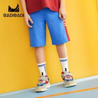 【2件3折:33】巴拉巴拉旗下2019夏季新款男童中大童潮流印花运动休闲中裤