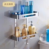 沐浴架 卫生间304不锈钢浴室置物架 壁挂卫浴五金挂件浴卫2层SN4609