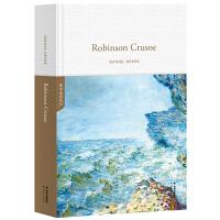 鲁滨逊漂流记Robinson Crusoe(全英文原版,世界经典英文名著文库,精装珍藏本)【果麦经典】
