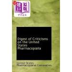 【中商海外直订】Digest of Criticisms on the United States Pharmacop