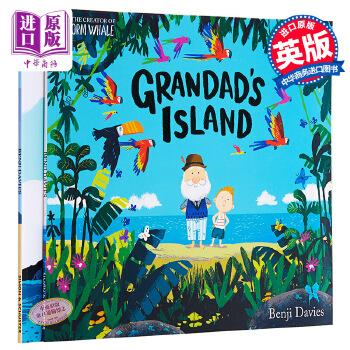 【中商原版】班吉戴维斯故事绘本2册 英文原版 Grandad's Island/Grandma Bird 亲子故事绘本 3-6岁