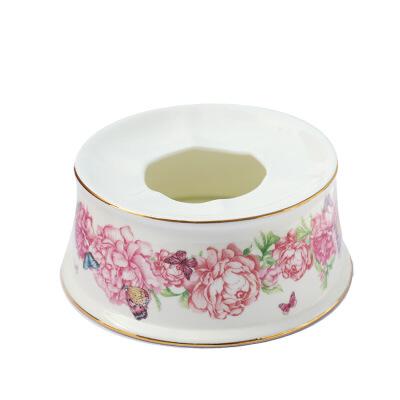 欧式骨瓷咖啡杯碟茶具套装英式下午茶陶瓷复古红茶杯子