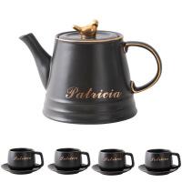 咖啡杯套装北欧下午茶杯子红茶杯欧式茶具陶瓷杯碟家用水杯具