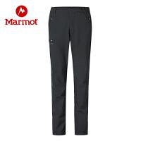 【活动价:459元 领券满200减40】Marmot/土拨鼠户外运动女士弹力保暖M2软壳裤