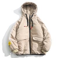 冬季加厚棉衣男士短款面包服韩版棉服加肥加大码潮胖棉袄冬装外套