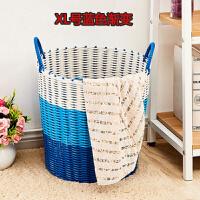 浴室放脏衣服的篮筐 理发店装脏衣服框子美容院污衣桶柔软篓子箱桶