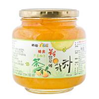[当当自营] 韩国进口 韩福10.2 蜂蜜芦荟柚子茶 1000g