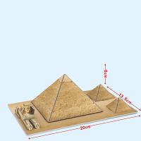 幼儿玩具手工拼装建筑迷你拼装模型立体拼图 3D纸模diy玩具幼儿园手工礼物