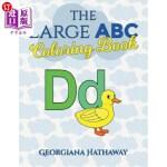 【中商海外直订】The Large ABC Coloring Book
