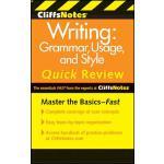 【预订】CliffsNotes Writing: Grammar, Usage, and Style Quick Re