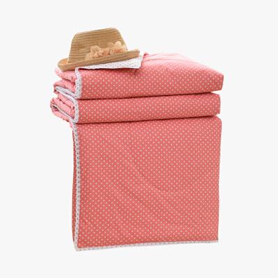 当当优品家纺 新疆棉花夏凉被 可水洗空调被 粉黛(复古粉)150*200当当自营 100%新疆棉花填充 蓬松柔软 透气排湿 可水洗不变形