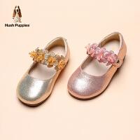 暇步士童鞋女童皮鞋2021春季新款宝宝单鞋软底表演鞋爱莎公主鞋
