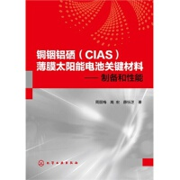 【TH】铜铟铝硒(CIAS)薄膜太阳能电池关键材料――制备和性能(新型太阳能电池关键材料制备) 周丽梅,高宏,薛钰芝著