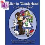 【中商海外直订】Alice in Wonderland: Coloring Book