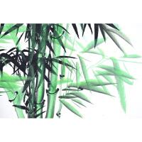 竹报平安竹子画字画国画客厅装饰手绘竹子节节高升四尺竖幅