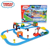 托马斯和朋友电动多多岛百变轨道小火车套装男孩玩具3-6岁 CGW29 多多岛百变轨道 官方标配