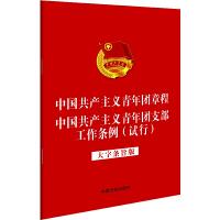 《中国共产主义青年团章程》 《中国共产主义青年团支部工作条例(试行)》(32开大字条旨版)