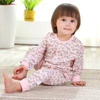 婴儿针织布短袖开裆爬服春夏季宝宝睡袋连体睡衣