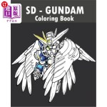 【中商海外直订】SD Gundam Coloring Book