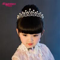 皇冠头饰儿童发饰头箍女孩公主王冠小皇冠发箍 六一演出发饰
