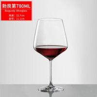水晶玻璃红酒杯家用大号欧式葡萄酒杯高脚杯