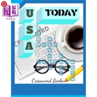【中商海外直订】Usa Today Crossword Books: Puzzles & Trivia Challen