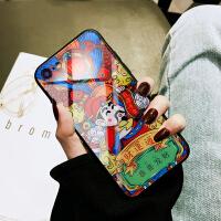 iphone7手�C�げAхR面�O果8plus/7/6s/x�化玻璃后�ぶ���L�神防摔社��人抖音同款外��
