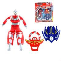 咸蛋超人泰罗银河奥特曼杯面变身宇宙超人3-6岁儿童模型玩具男孩