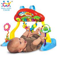 汇乐786多功能健身琴儿童早教益智玩具 婴儿健身架音乐灯光健身器