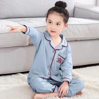 儿童睡衣女童中大童女孩春秋季长袖套装薄款空调服宝宝家居服