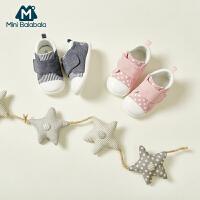 【每满299元减100元】迷你巴拉巴拉儿童鞋子婴儿学步鞋2019秋新款防滑女宝宝童鞋男鞋