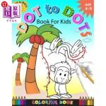 【中商海外直订】Dot To Dots Book For Kids Coloring book Ages 4-8: A