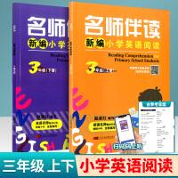 名师伴读新编小学英语阅读三年级上册+下册2本