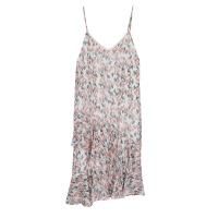 巴厘岛三亚沙滩裙女夏天海边度假长裙泰国超仙碎花吊带连衣裙 花色