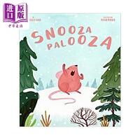 【中商原版】原版绘本Vivian Mineker:Snoozapalooza冬眠的准备精装3-6岁进口图书