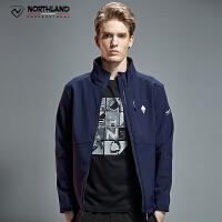 【过年不打烊】诺诗兰新款软壳衣户外男士保暖舒适休闲外套GF075X05