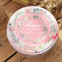 蛋糕曲奇饼干铁盒包装盒马口铁烘焙蛋糕喜糖盒子圆形大号糖果盒