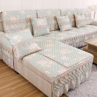 防滑欧式沙发垫布艺四季通用型123组合沙发套全包套巾罩全盖