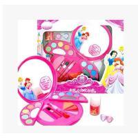 专柜正品迪士尼亮丽小美人鱼公主爱丽儿化妆盒/儿童彩妆女孩玩具 包邮