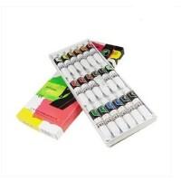 马利丙烯颜料818 18色丙烯画颜料/手绘衣服墙体美甲颜料 画材 开学学画用品